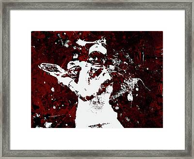 Angelique Kerber 3f Framed Print
