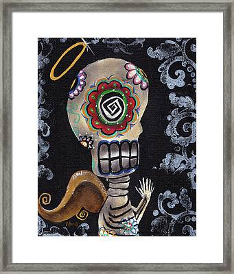 Angelito  Framed Print by  Abril Andrade Griffith