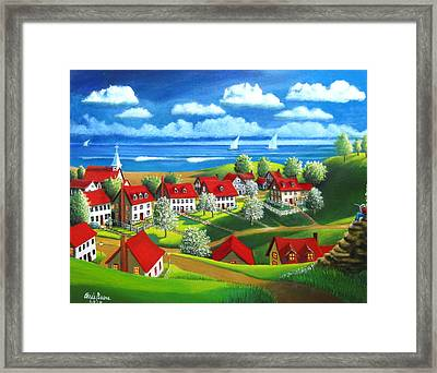 Angelos Dream Framed Print by Chris Boone