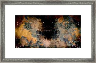 Angels Administering Spiritual Gifts Framed Print