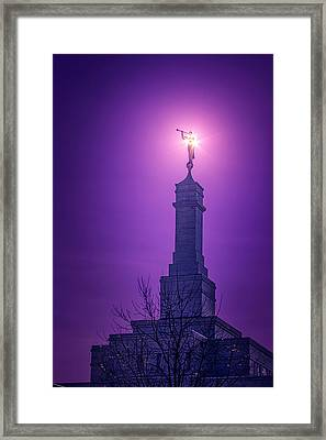 Angels Before Him Framed Print by Greg Collins