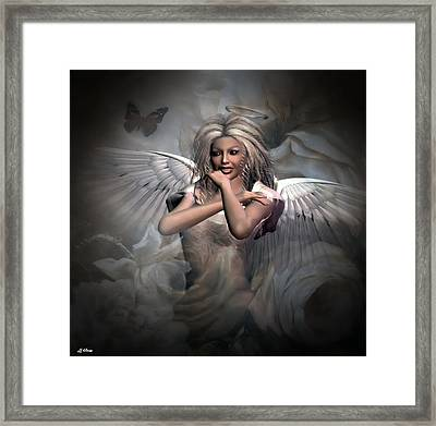 Angels Bliss Framed Print by G Berry