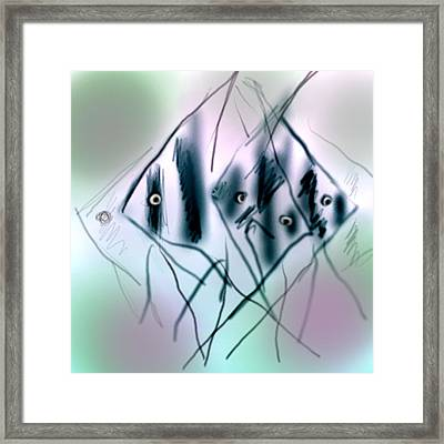 Angels Framed Print by Dave Kwinter
