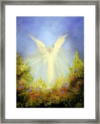 Angel's Garden Framed Print