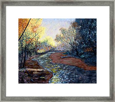 Angels In Nature Framed Print by Stan Hamilton