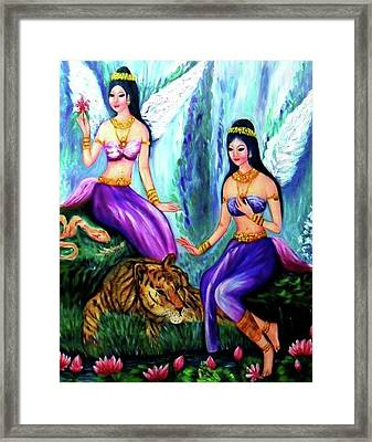 Angels Kinnaree Framed Print