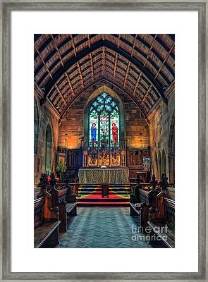 Angels Light Framed Print