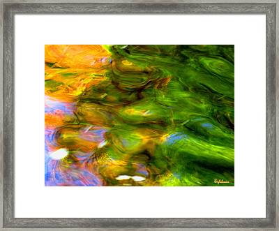 Angels Are Always Near Framed Print