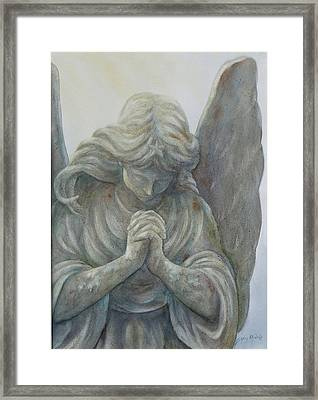Angels On High Sold Prints Available Framed Print