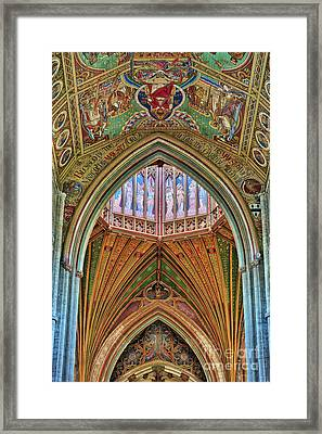 Angels On High Framed Print by Tim Gainey