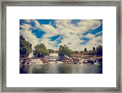 Angels Overhead Framed Print by Laurie Search
