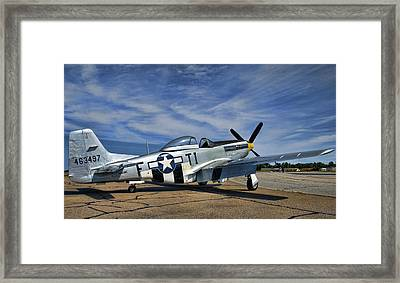 Angels Playmate  Framed Print
