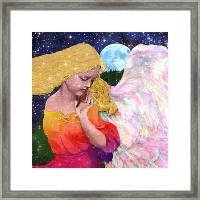 Angels Protect The Innocents Framed Print