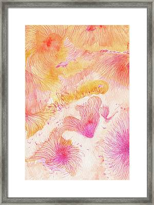 Angels Singing - #ss16dw046 Framed Print by Satomi Sugimoto