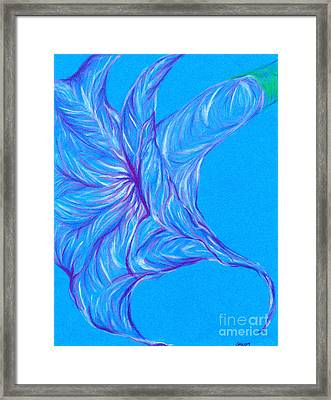 Framed Print featuring the photograph Angel's Trumpet by Kim Sy Ok