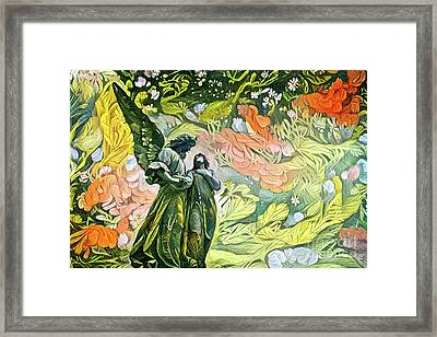 Angels Watching Over 1 Framed Print