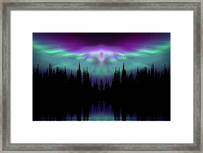 Angels Watching Over You Framed Print