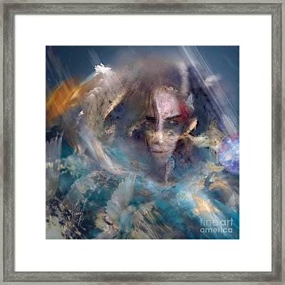 Angels We Invite You Here Framed Print by Freddy Kirsheh