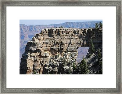 Angel's Window  -- North Rim Grand Canyon Framed Print