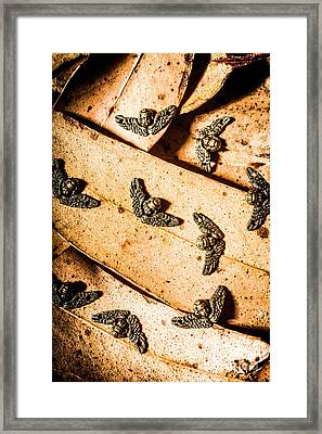 Angels With Wings Framed Print