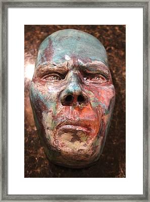 Anger Framed Print by Donovan Hettich