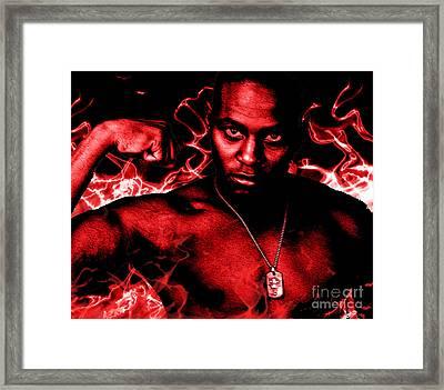 Anger Framed Print by Tbone Oliver