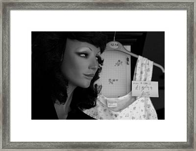 Angie Framed Print by Jez C Self