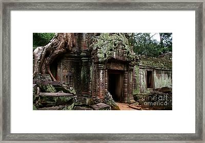 Angkor Wat Framed Print by Louise Fahy