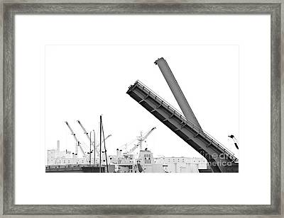 Framed Print featuring the photograph Angle Of Approach by Stephen Mitchell