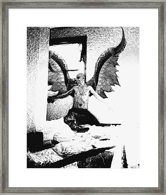 Angle Of Darkness Framed Print by Jack Norton