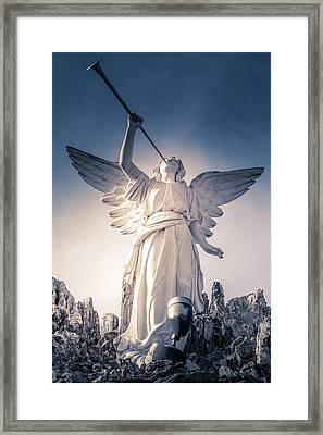 Angel Of Light Framed Print by Art Spectrum