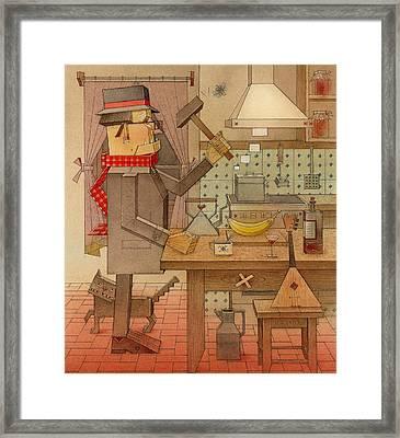 Angleman04 Framed Print by Kestutis Kasparavicius