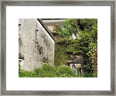 Angles Framed Print by Kathy Daxon