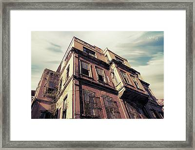 Angles Of Attrition Framed Print by Joseph Westrupp