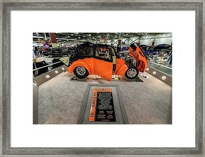 Framed Print featuring the photograph Anglia by Randy Scherkenbach