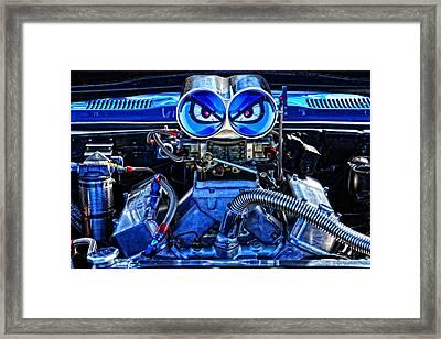 Angry Bird - 1968 Firebird Framed Print by Mike Martin