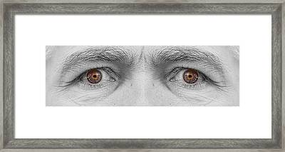 Angry Eyes Framed Print by James BO  Insogna