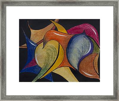 Angry Response Framed Print by Ilona MONTEL