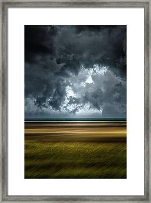 Angry Sky Framed Print