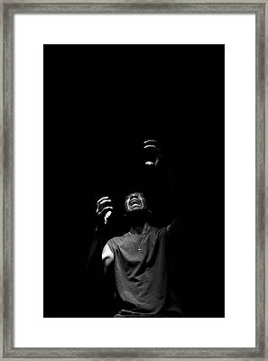 Framed Print featuring the photograph Anguish by Eric Christopher Jackson