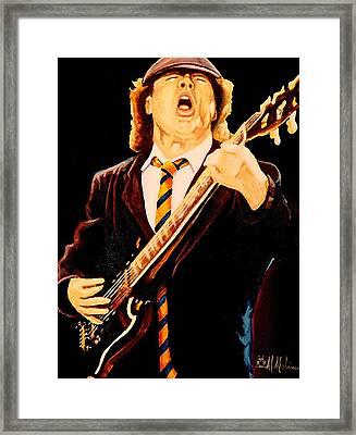 Angus Framed Print by Al  Molina
