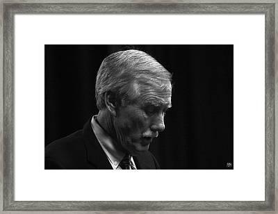 Angus King Framed Print
