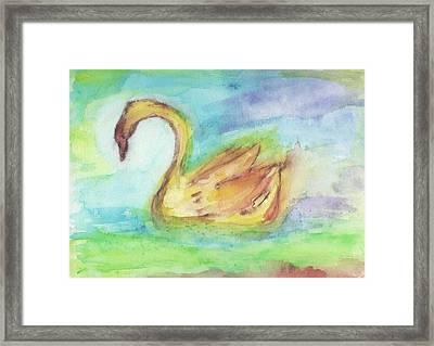 Angus Og Framed Print by A L Aronson
