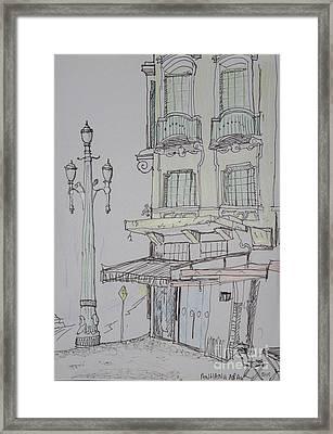 Anhangabau - Sao Paulo Framed Print by James McCormack