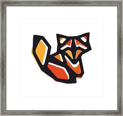 Anigami Fox Framed Print