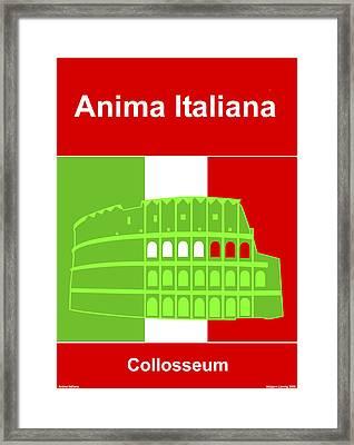 Anima Italiana Framed Print by Asbjorn Lonvig