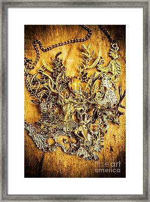 Animal Amulets Framed Print