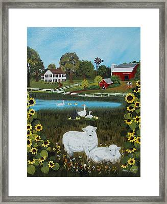 Animal Farm Framed Print