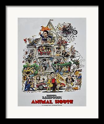 Movie Poster Gallery Framed Prints