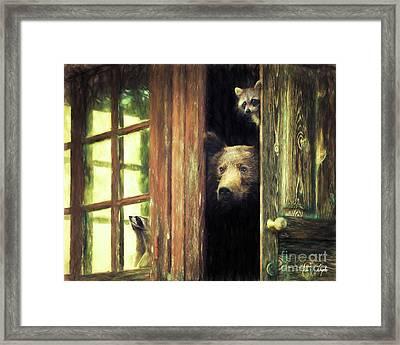 Animal House Framed Print by Tim Wemple